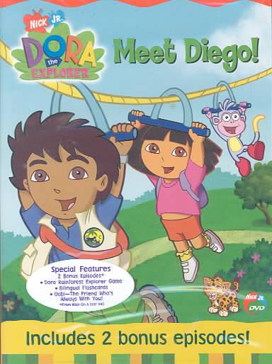 DORA THE EXPLORER:MEET DIEGO BY DORA THE EXPLORER (DVD)